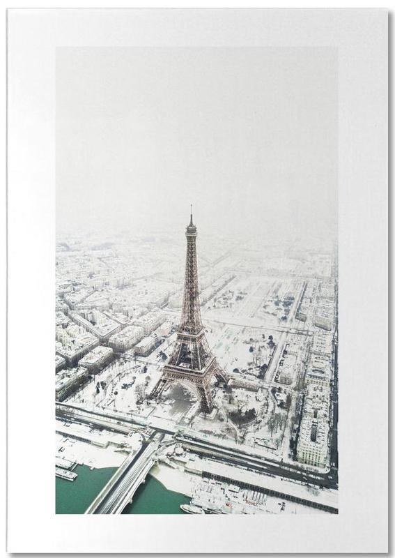 Paris, Monuments et vues, Voyages, Paris in Winter bloc-notes