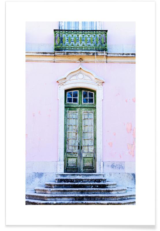 Voyages, Lisbonne, Détails architecturaux, Lisbon Doorway affiche