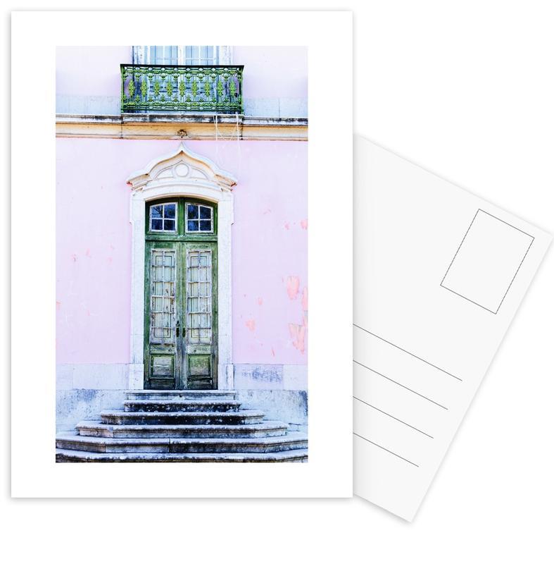 Lisbon Doorway -Postkartenset