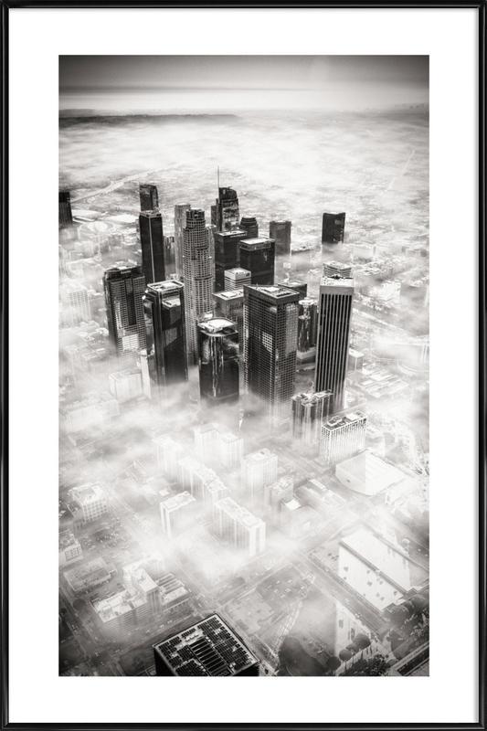 L.A. from Above ingelijste poster