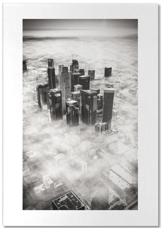 Los Angeles, Noir & blanc, Monuments et vues, Voyages, L.A. from Above bloc-notes