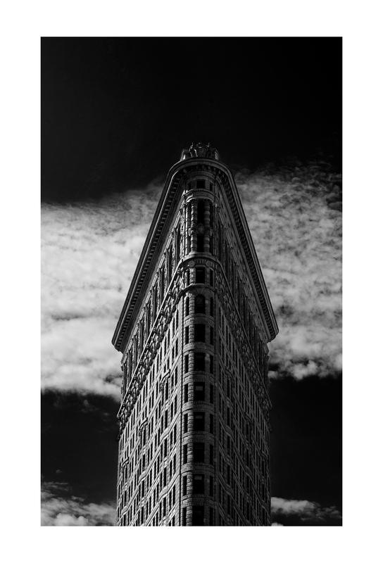 Flatiron Building, New York -Alubild