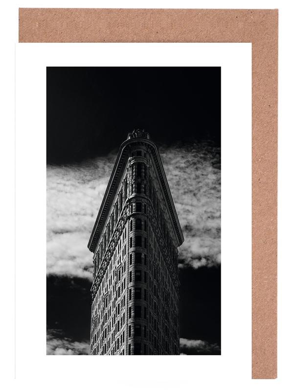 Flatiron Building, New York -Grußkarten-Set