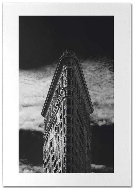 New York, Noir & blanc, Monuments et vues, Voyages, Flatiron Building, New York bloc-notes