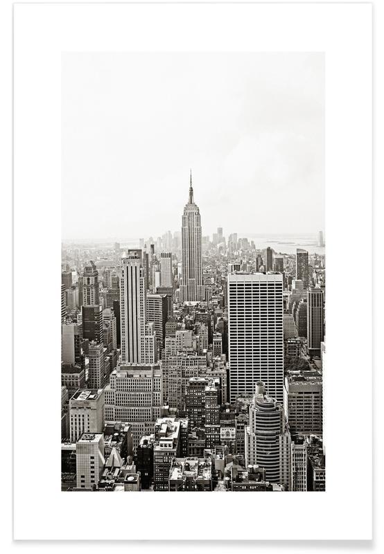 Los Angeles, Sort & hvidt, Seværdigheder & landmærker, Rejser, Los Angeles Plakat