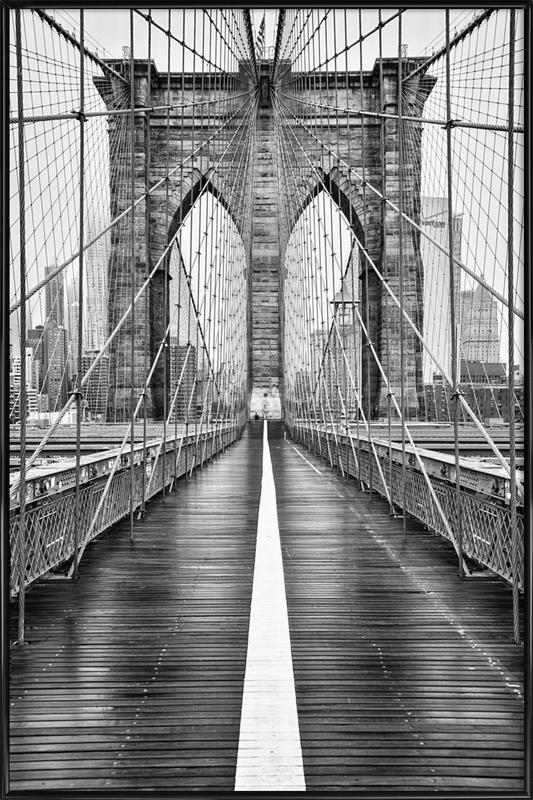 Brooklyn Bridge Poster i standardram