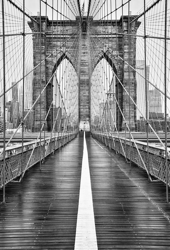Brooklyn Bridge -Acrylglasbild