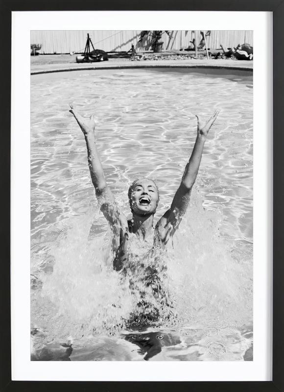 Splash Poster i träram