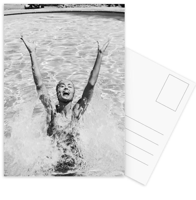 Splash -Postkartenset