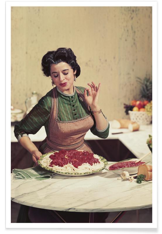 Italian Kitchen Plakat