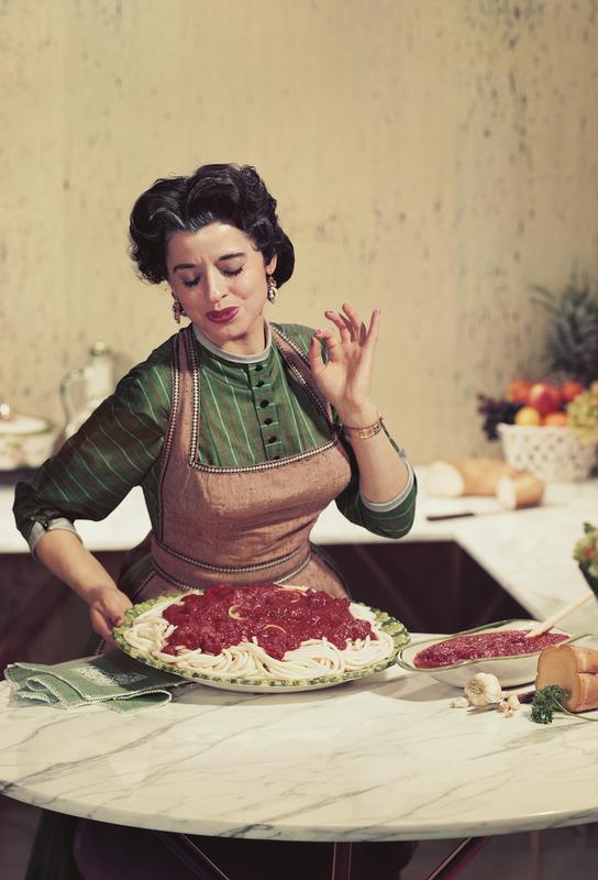 Italian Kitchen Akrylglastavla