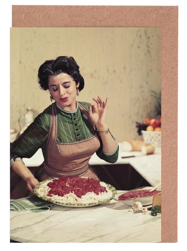 Italian Kitchen Greeting Card Set