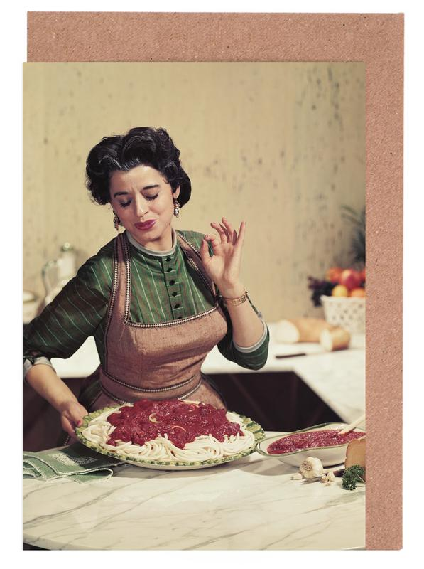 Italian Kitchen cartes de vœux