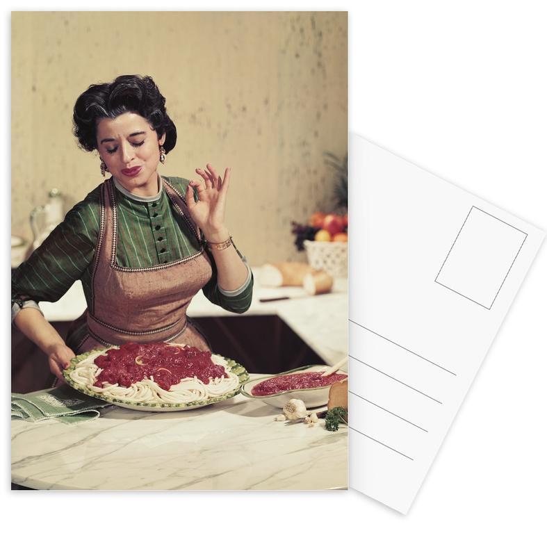 Italian Kitchen -Postkartenset