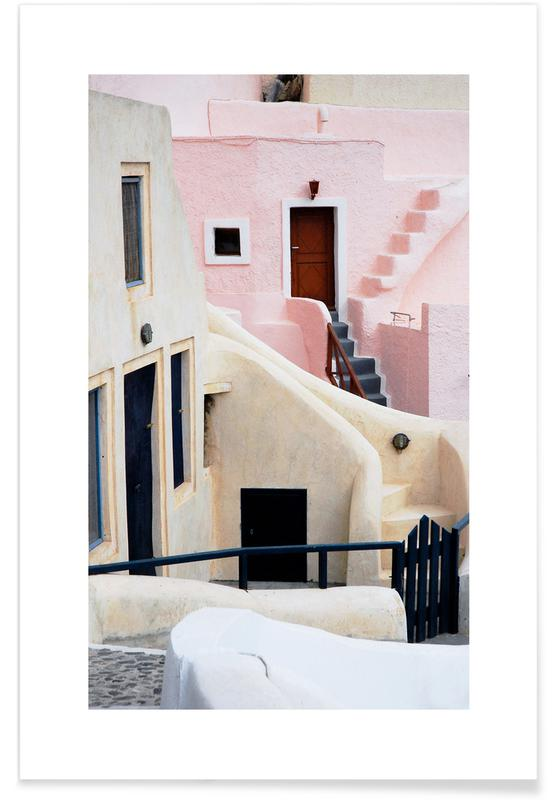 Santorini affiche