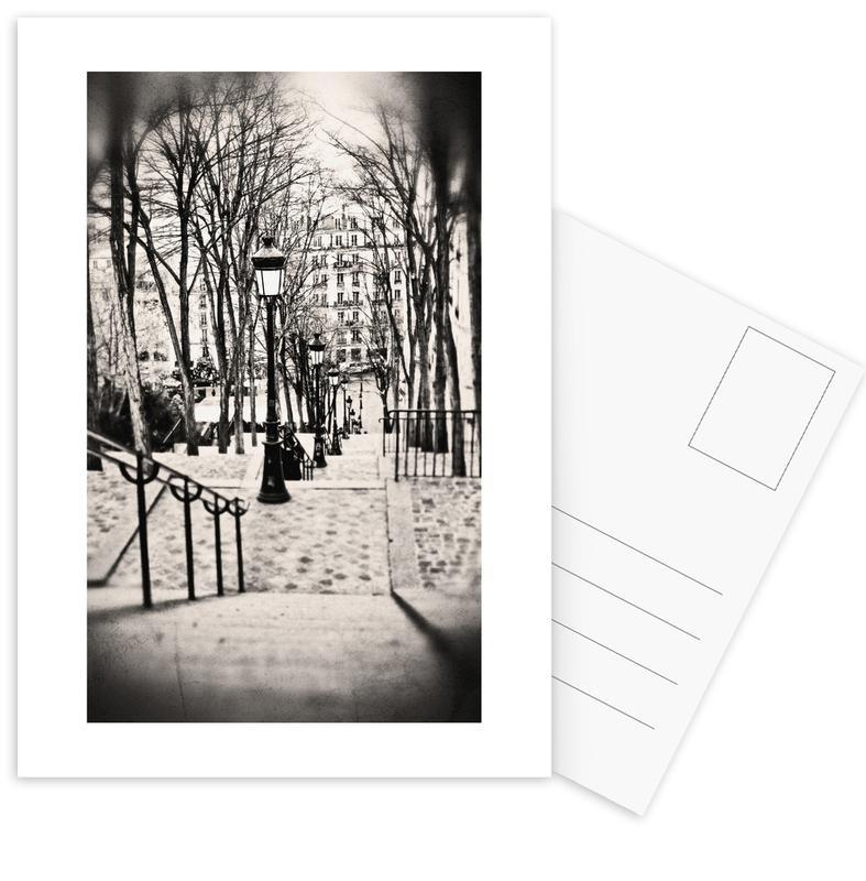 Montmartre, Paris -Postkartenset