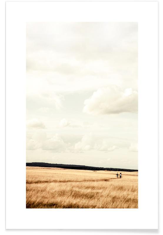 Meadow Walks Poster