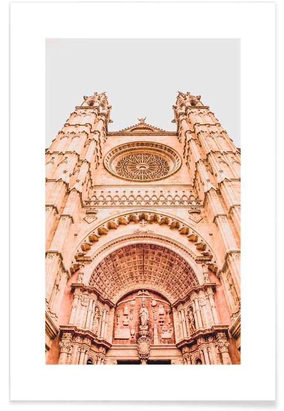 Reise, Sehenswürdigkeiten & Wahrzeichen, Palma de Mallorca -Poster