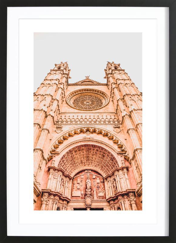 Palma de Mallorca -Bild mit Holzrahmen