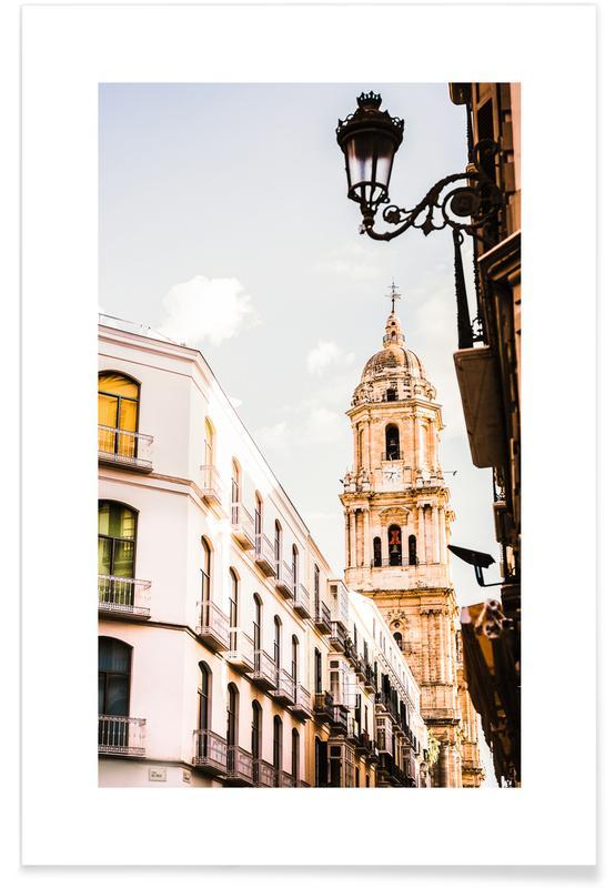 Arkitektoniske detaljer, Rejser, Malaga Plakat