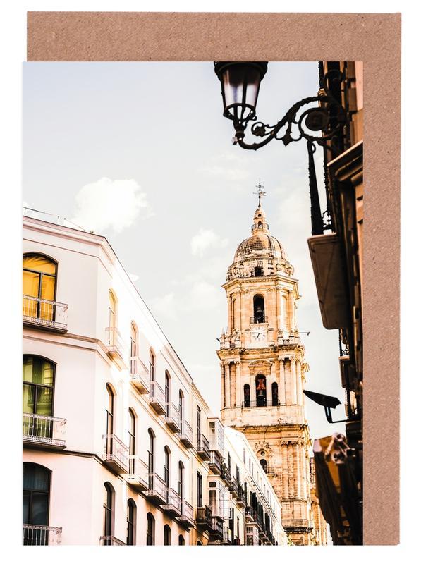 Architekturdetails, Reise, Malaga -Grußkarten-Set