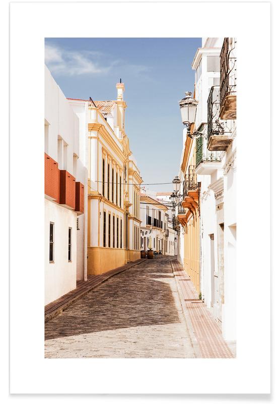 Arkitektoniske detaljer, Rejser, Cadiz Plakat