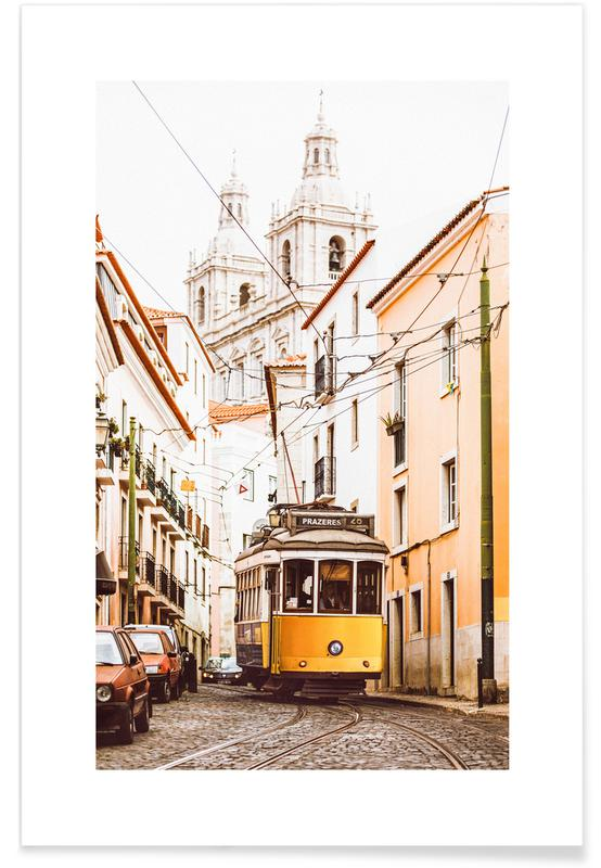 Rejser, Lissabon, Lissabon sporvogn Plakat