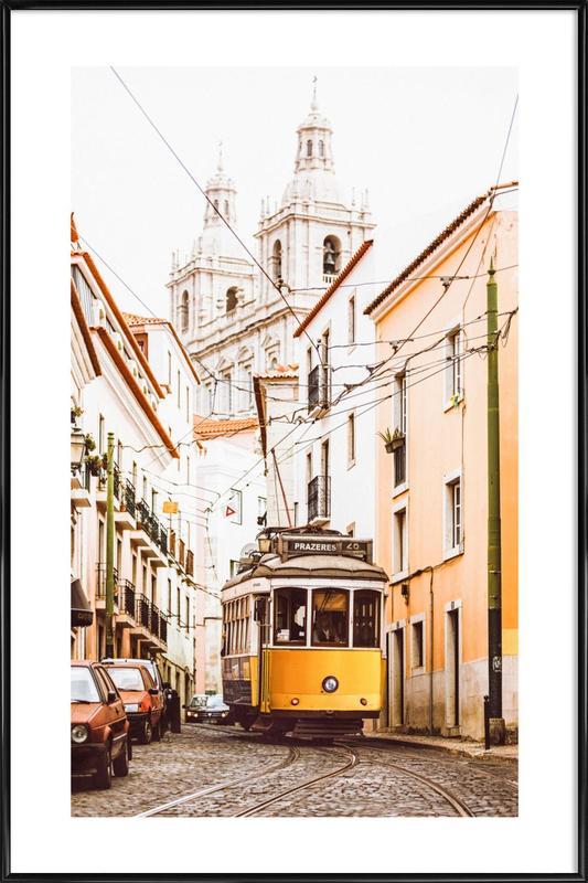 Lisbon Tram Framed Poster