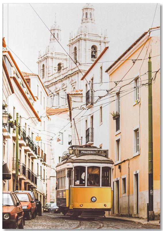 Lisbon Tram Notebook