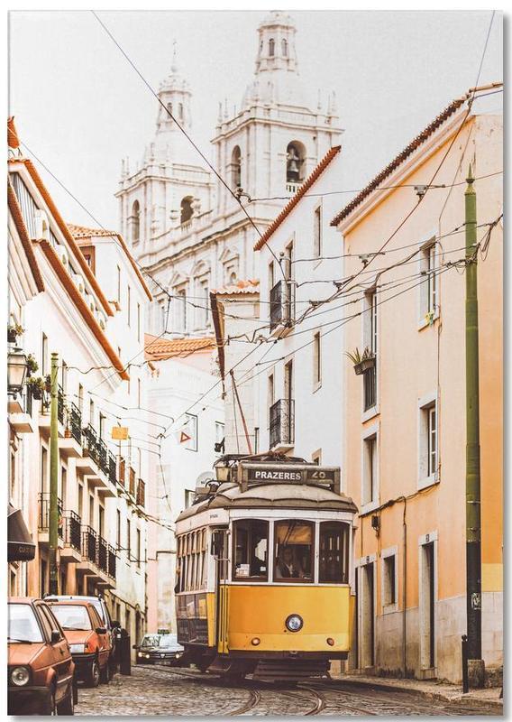 Lisbon Tram -Notizblock