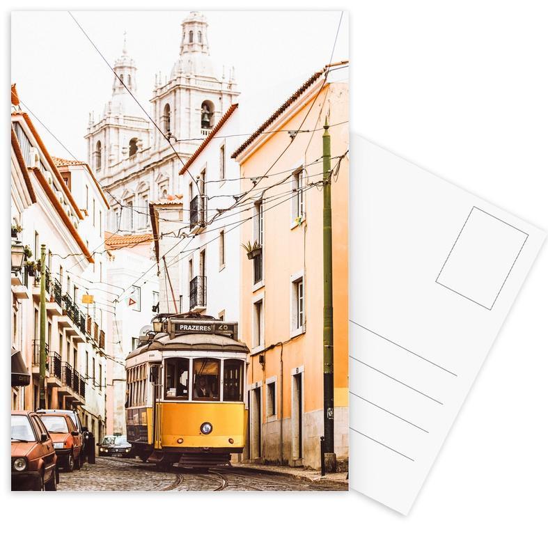 Lisbon Tram -Postkartenset