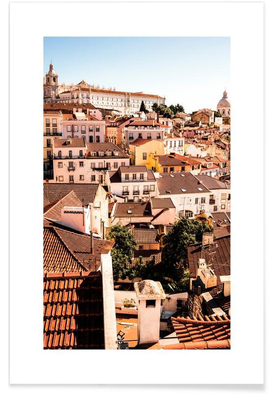 Lissabon, Arkitektoniske detaljer, Rejser, Lisbon Plakat