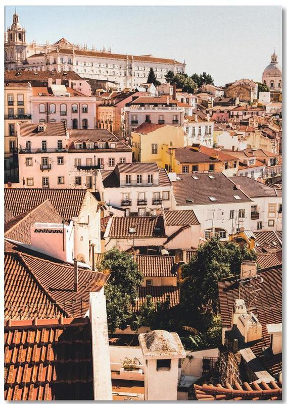 Reizen, Lissabon, Architectonische details, Lisbon notitieblok