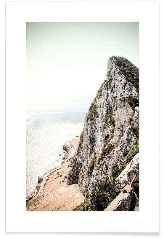 Montañas, Viajes, Gibraltar póster