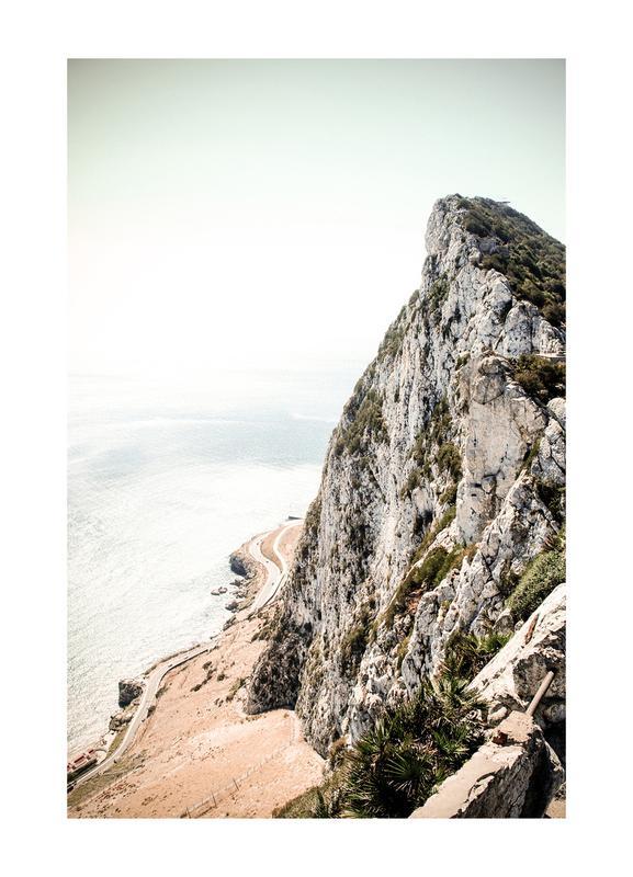 Gibraltar Canvastavla