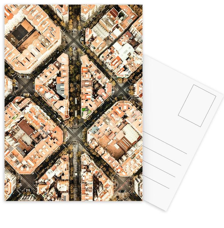 Architectonische details, Barcelona, Barcelona ansichtkaartenset