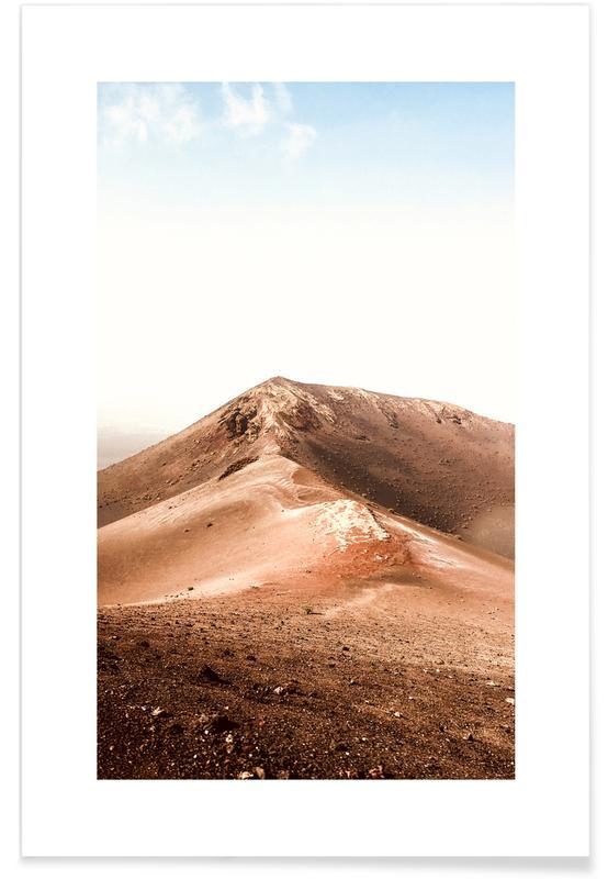 Ørkener, Rejser, Arrecife Plakat