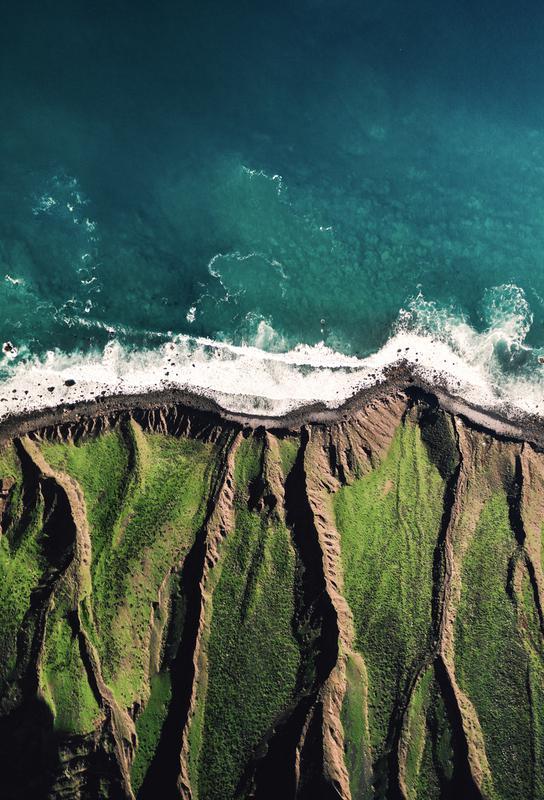 Arrecife Tide -Acrylglasbild