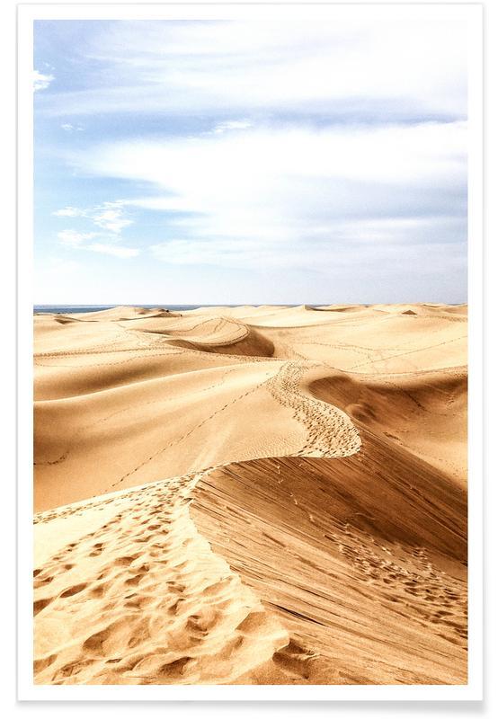 Ørkener, Rejser, Las Palmas Plakat