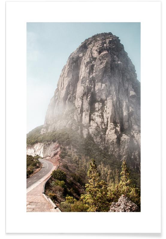 Bjerge, Rejser, San Sebastian Plakat