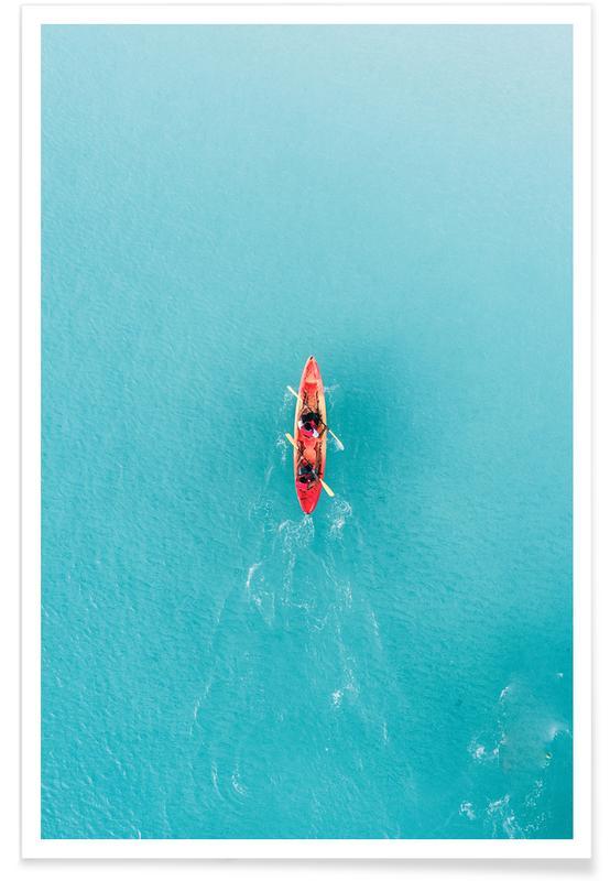 Både, Hav, sø & havlandskab, Blue Ocean Plakat