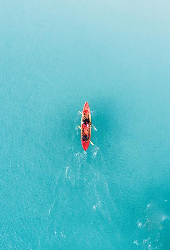 Blue Ocean -Alubild