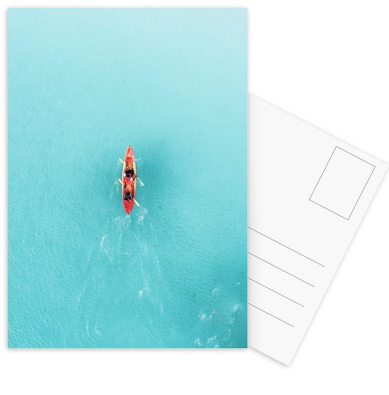 Blue Ocean -Postkartenset