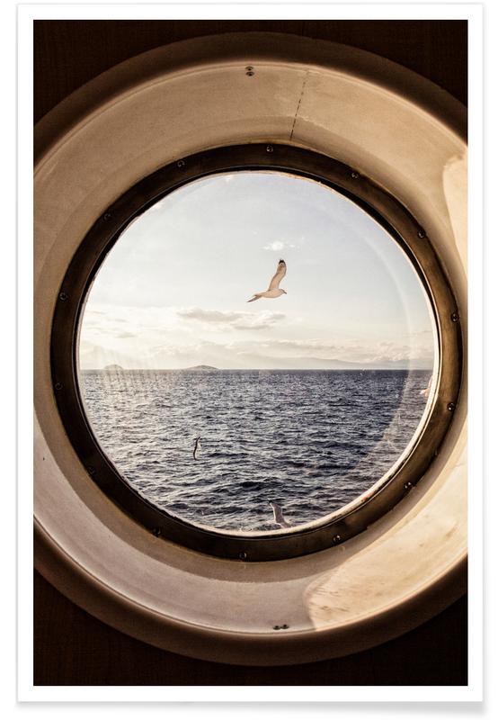 Océans, mers & lacs, Ocean View affiche