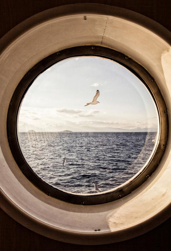Ocean View -Alubild