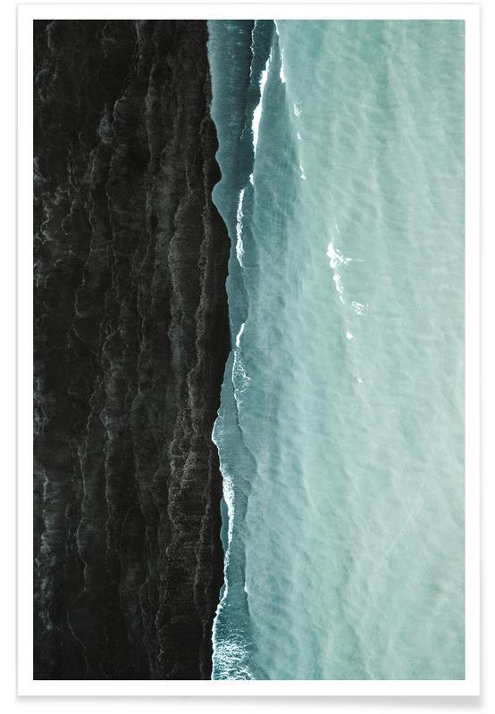 Hav, sø & havlandskab, Waves Plakat