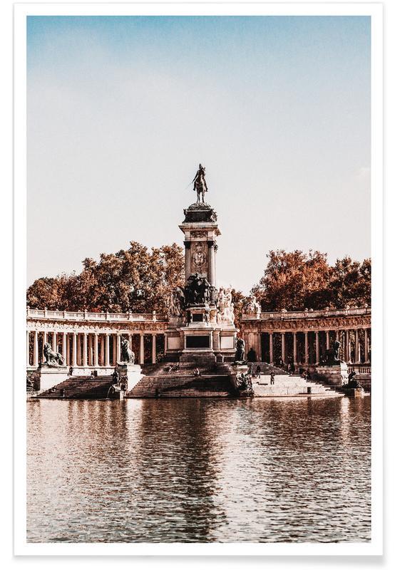 Parque de El Retiro, Madrid poster