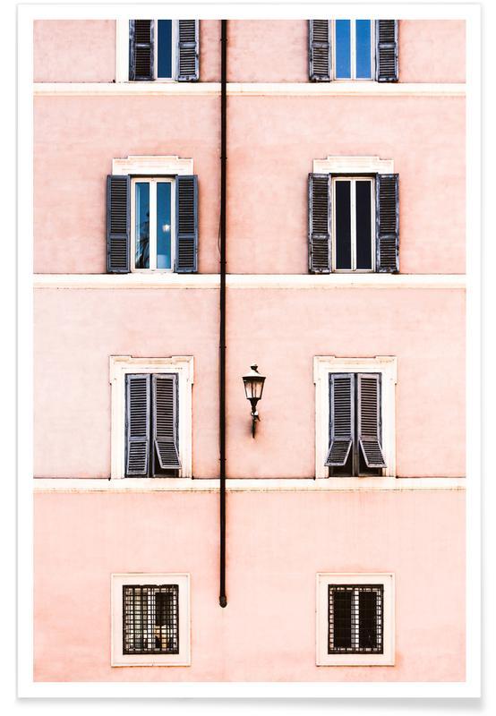Pastel Facade poster