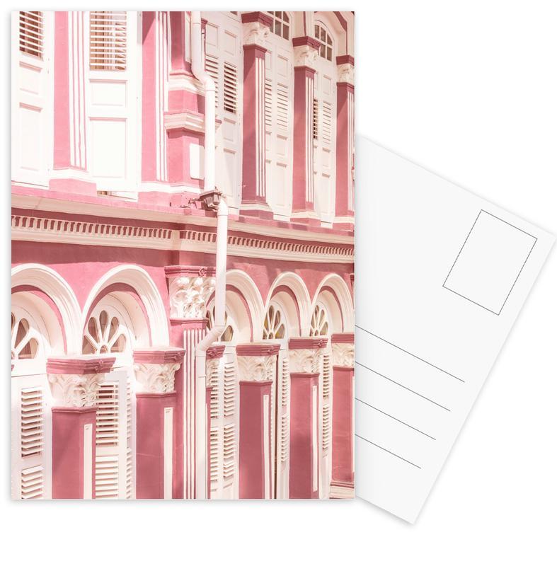 Architectonische details, Pink Facade ansichtkaartenset
