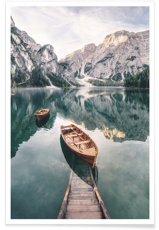 Océans, mers & lacs, Dolomites affiche